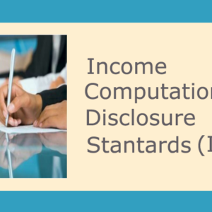 Introduction to Income Computation and Disclosure Standards