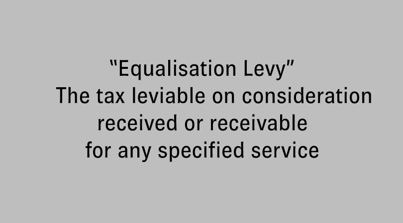 Equalisation Levy